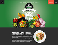 Kabab House responsive website