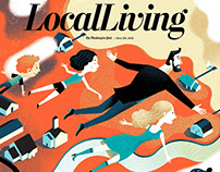Washington Post LocalLiving Cover