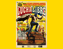 POSTER&VIDEO LUCHA LIBRE @LONDON