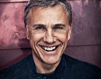 Christoph Waltz for Rhapsody Magazine