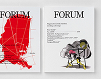 Forum / Magazine design