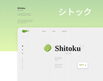 Cafe Website Concept-Matcha
