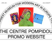 The Centre Pompidou — UX/UI Concept