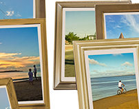 Portrait Photo Frames Template