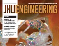 JHU Engineering - Editorial Design