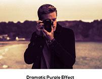 Damatic Purple Effect