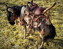 Saddle Wildebeest