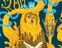 Paper Jam: King Bear
