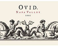 Ovid Wine Label Illustrated by Steven Noble
