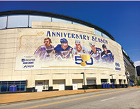 St. Louis Blues 50th Anniversary Campaign