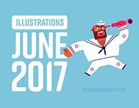 Dair Biroli - Illustrations June 2017