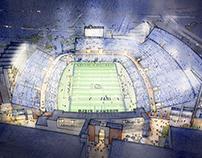 ODU Stadium Rendering