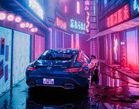 Mercedes AMG GT - CGI