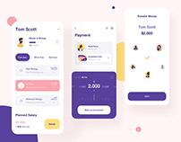Investment app UI