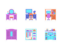 Interior Icon Set
