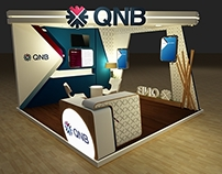 QNB BANK BOOTH