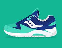 Illustratrion | 365 Sneakers