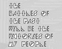 WIP Typeface