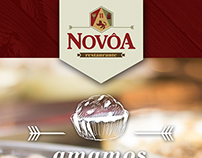 Restaurante Novôa - cards para facebook