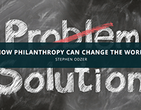 Stephen Odzer: How Philanthropy Can Change the World