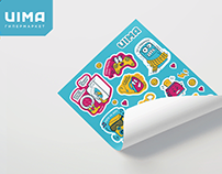 Uima stickerpack
