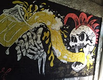 Mural @ Sin Corbata Cervecería Artesanal