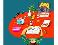 Children Educational Illustration