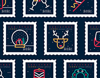 Free Christmas/NY icons 2021