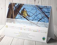 Desk calendar for the Landscape Parks Complex