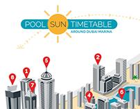 Pool Sun Timetable