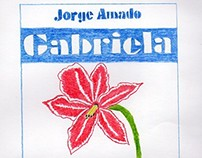 Capa do Livro Gabriela - Cravo e Canela