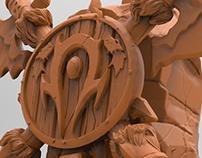 Horde Crest Sculpt