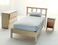 1:12 Modern Bedroom Furniture - Progress