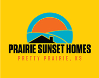 Prairie Sunset Homes Logo