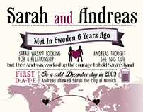 save the date card - Design