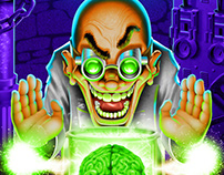 Mad Scientist with Brain!