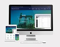 Liquid Frameworks Website Redesign