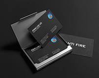 Anti Fire capsule. Brand Identity