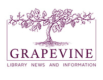 Roesch Library's Grapevine newsletter
