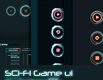 3 in 1 bundle Sci Fi Game UI