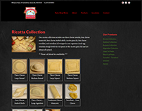Website design for Deano's Pasta
