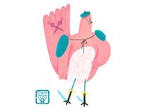 Finger bird