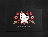 NEKOMAMUSHI sushi bar - brand identity