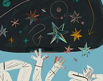 School under the stars