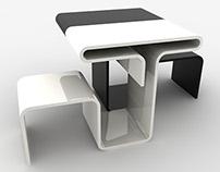 Corolla table concept