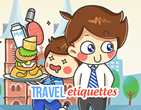 Vietravel - Travel Etiquettes Artworks