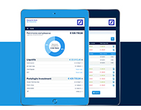Deutsche Bank - Redesign the online banking