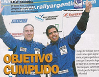 Luis Pérez Companc en Munchi's Ford World Rally Team