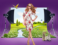 SPRING Creative Retouch, advertising art,