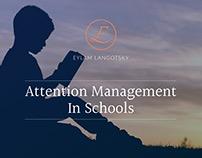Attention Management, PowerPoint Presentation design